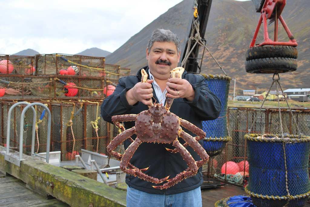 Fishing Crabs in Bristol Bay
