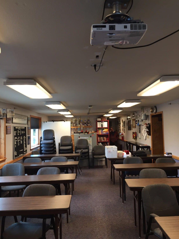 Cordova volunteer fire department upgrades training room for Interior decorator volunteer