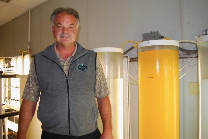 Jeff Hetrick, director of the Alutiiq Pride Shellfish Hatchery in Seward. File photo by Margaret Bauman