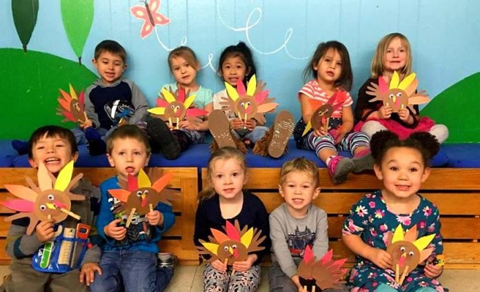 Top left to right: Micah Carlson-Pettit, Kourtney Babic, Kylla Ridao, Elora Renner and Lorelai Botz. Bottom left to right: Jaxon Pallas, Kaiden Fought, Evelyn Sloan, Maverick Kennedy and Ava Bergmann. Photo courtesy of Children's Pallas/for The Cordova Times