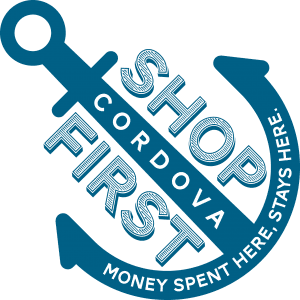 Shop Cordova First Logo