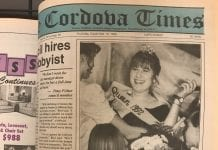 Cordova High School senior Gretchen Shellhorn was crowned the 1992 Homecoming Queen at homecoming ceremonies Saturday. Photo by Marc Cowart/The Cordova Times The Cordova Times archive, 1992