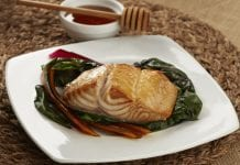 Alaska Black Cod Marinated with Honey