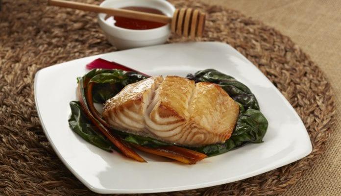 Alaska Black Cod Marinated with Honey