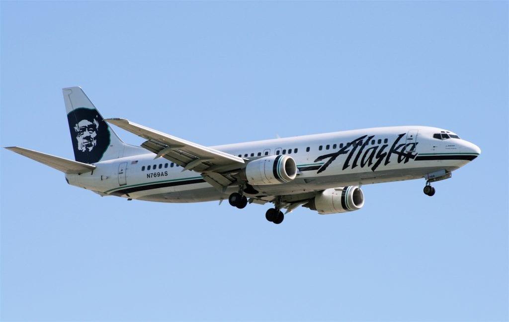Naked passenger turns Alaska Airlines plane back to