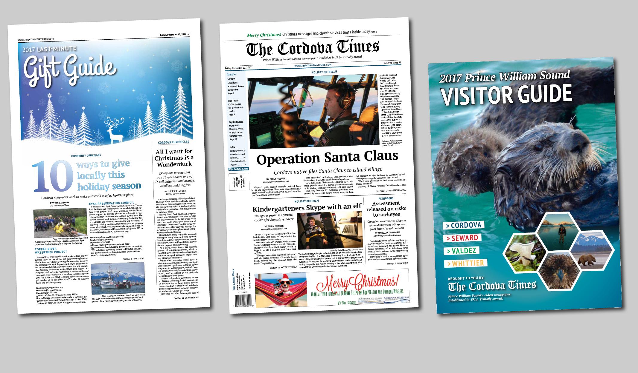 The Cordova Times wins four press club awards -The Cordova Times