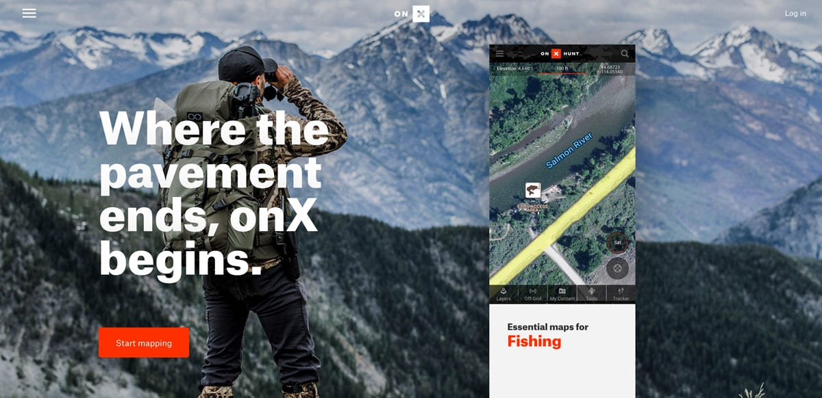 Hunting App OnX Shows Land Boundaries The Cordova Times - Onx map app