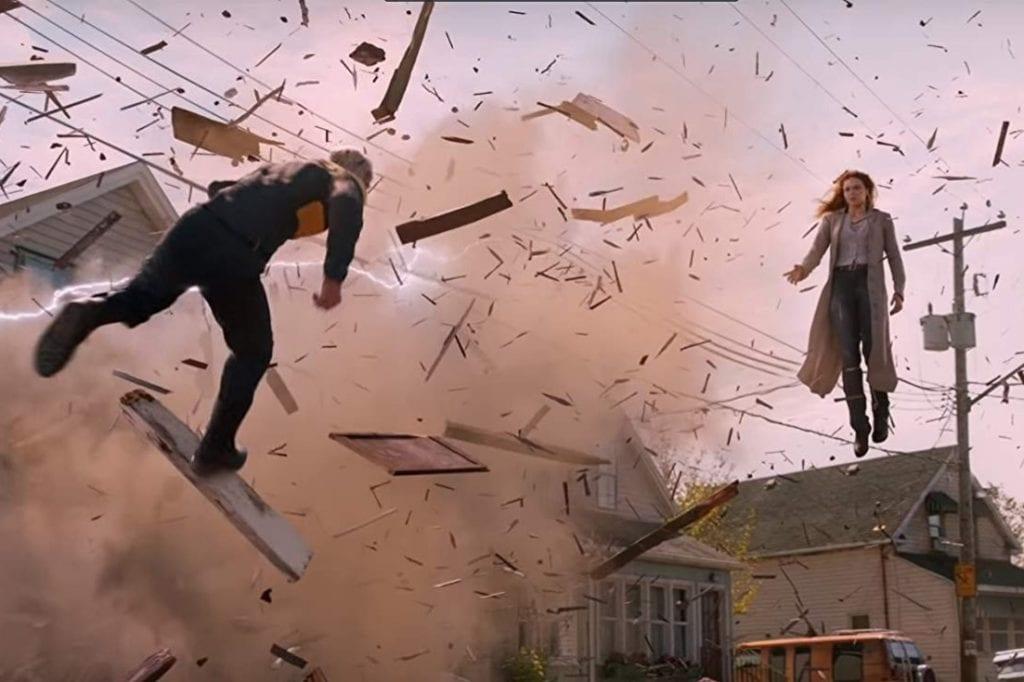 """Evan Peters and Sophie Turner in """"Dark Phoenix."""""""