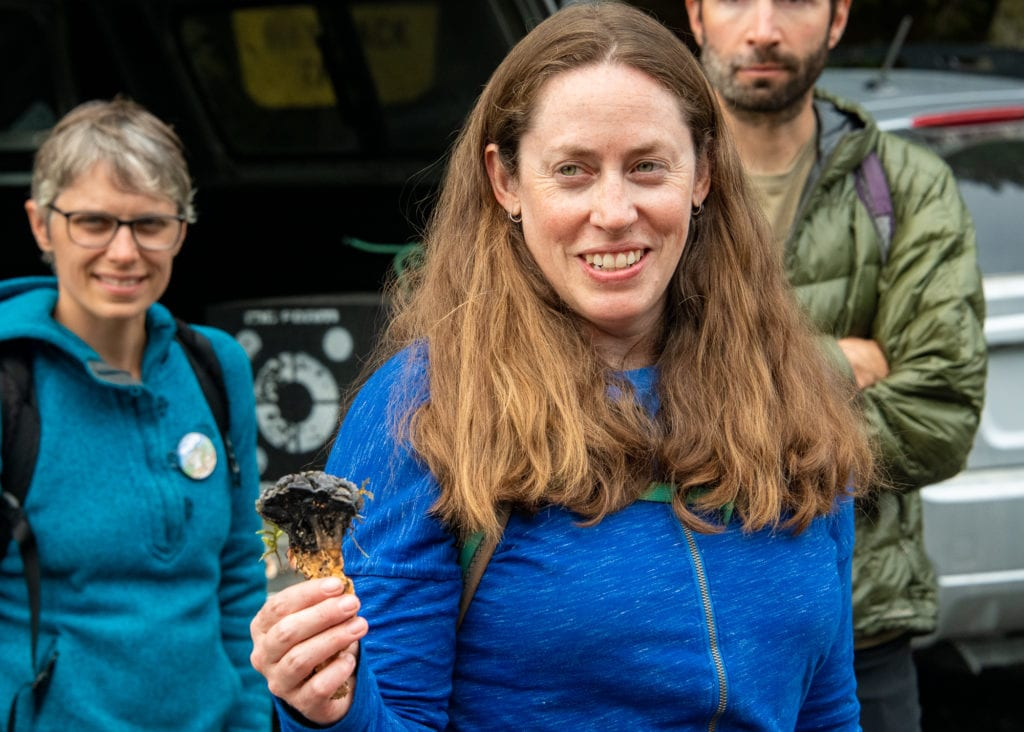 Kate Mohatt, Forest Service Prince William Sound Zone ecologist. (Aug. 31, 2019) Photo by Zachary Snowdon Smith/The Cordova Times