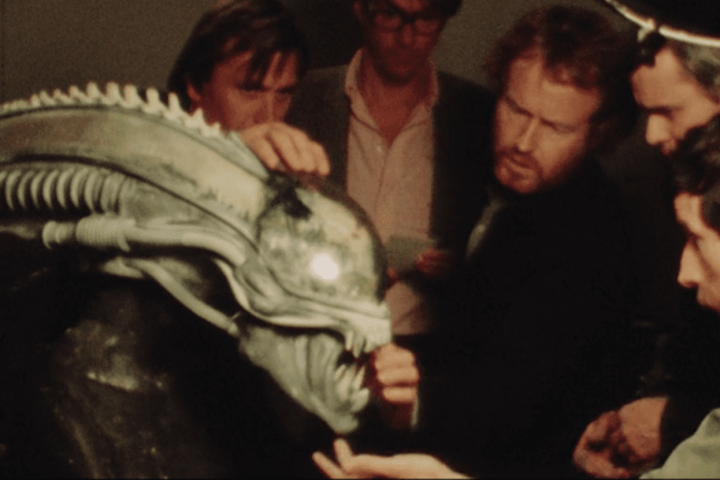 "Ridley Scott in ""Memory: The Origins of Alien."""