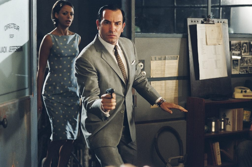 """Bérénice Bejo and Jean Dujardin in """"OSS 117: Cairo, Nest of Spies."""""""