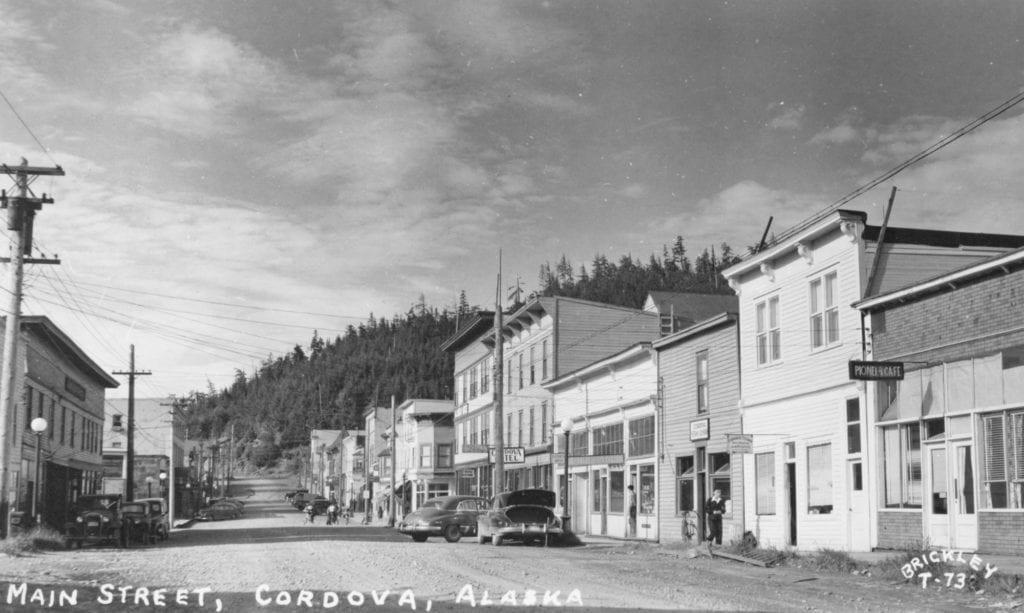 Photo courtesy of the Cordova Historical Society