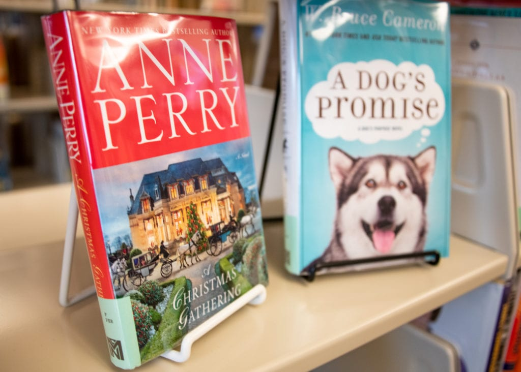 A variety of new books have arrived at Cordova Public Library. (Dec. 17, 2019) Photo by Zachary Snowdon Smith/The Cordova Times.