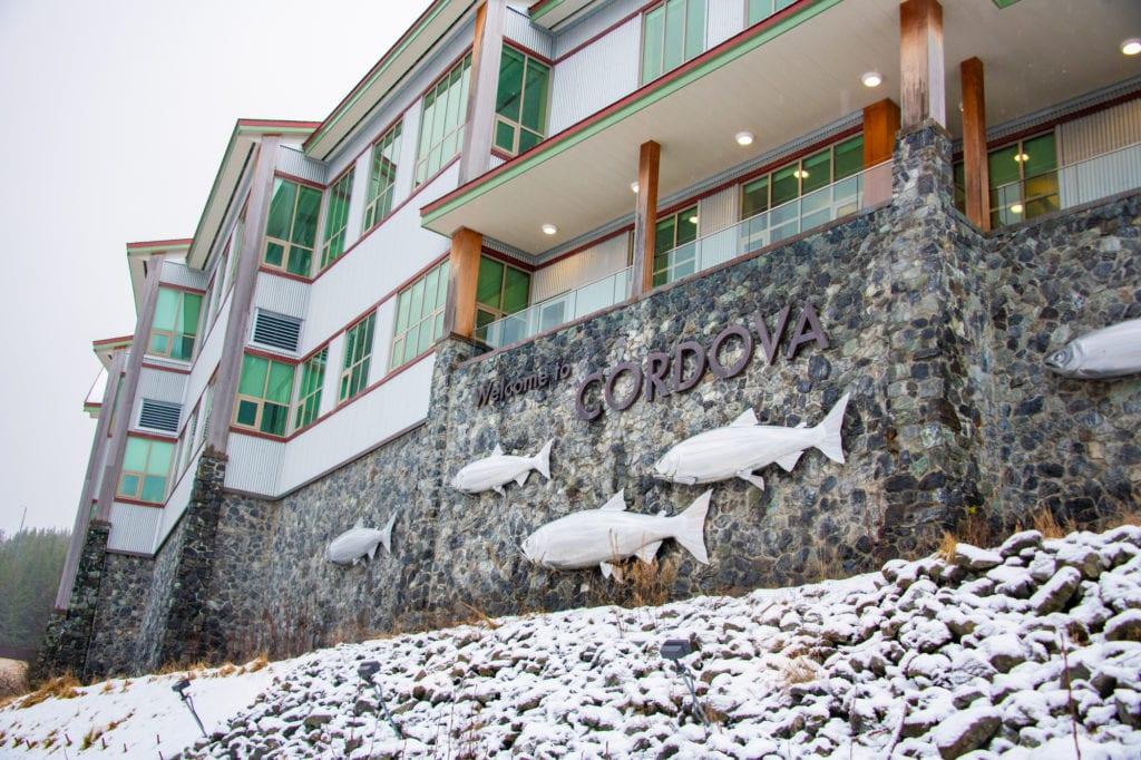 The Cordova Center. (Dec. 23, 2019) Photo by Zachary Snowdon Smith/The Cordova Times