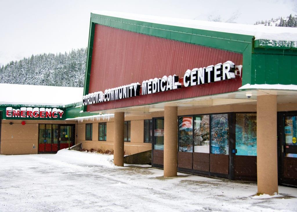 Cordova Community Medical Center. (Dec 27, 2019) Photo by Zachary Snowdon Smith/The Cordova Times