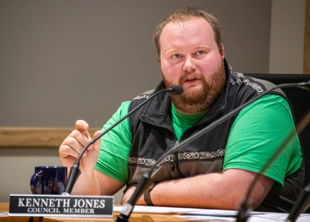 Councilman Ken Jones's seat is one of two up for election March 3. (Dec 4, 2019) Photo by Zachary Snowdon Smith/The Cordova Times