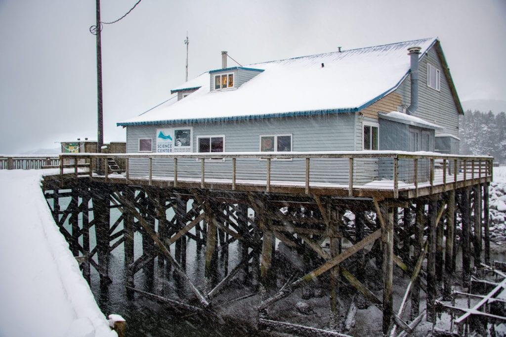Prince William Sound Science Center's harborside facility. (Dec 27, 2019) Photo by Zachary Snowdon Smith/The Cordova Times