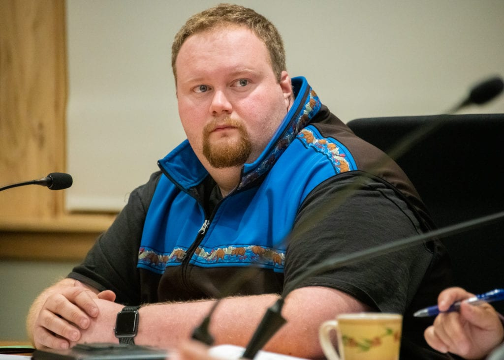 Councilman Ken Jones will run to keep his seat in the March 3 Cordova Regular Election. (Jan. 15, 2020) Photo by Zachary Snowdon Smith/The Cordova Times