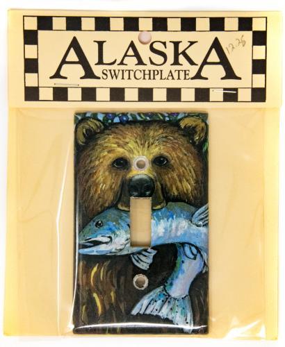 Alaska wildlife switchplate