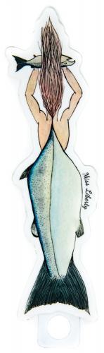 Prince William Sound mermaid sticker