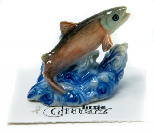 Little Critterz of Alaska hand-painted porcelain miniature
